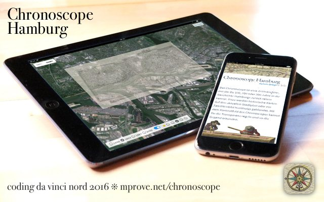 Chronoscope Hamburg für Web, iPhone und iPad